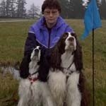 Buddie & Amie TDX - Eng. Springer - Terrie Simpson