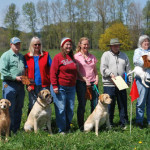 Evergreen Golden Retriever Club Tracking Test 2011 7