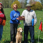 Evergreen Golden Retriever Club Tracking Test 2011 10